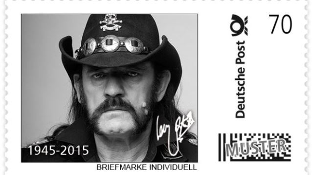 Lemmy German Postage Stamps
