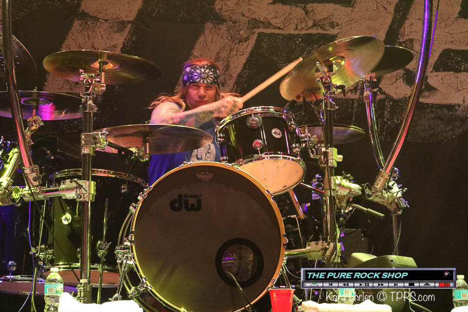 steel panther drummer